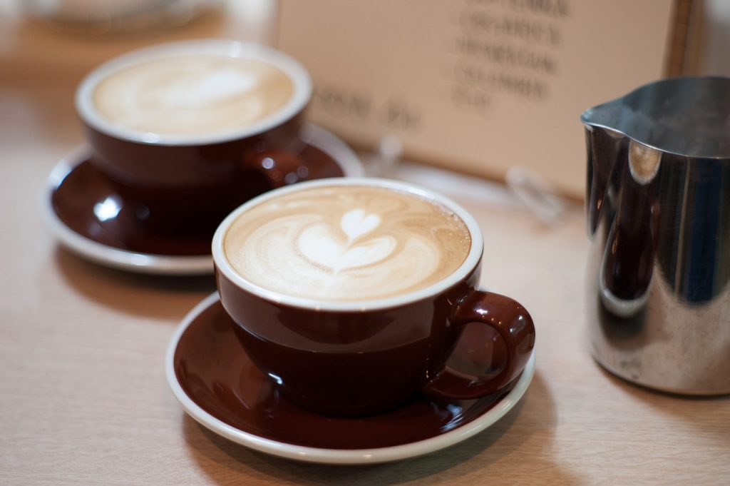 カフェのバイト