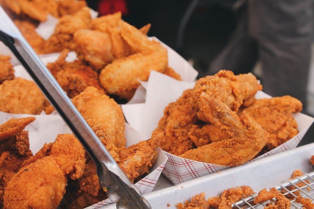 チキン販売のバイト