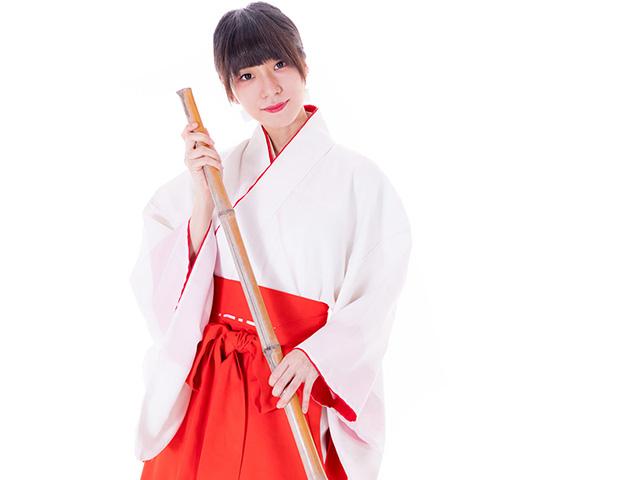 制服がかわいいバイトおすすめ人気ランキング第9位 巫女