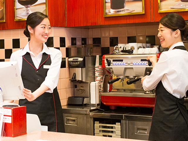 制服がかわいいバイトおすすめ人気ランキング第1位 カフェ・ベローチェ